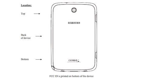 Samsung Galaxy Note 8 Wifi Only galaxy note 8 0 3g da fcc notebook italia