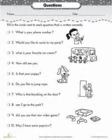 Middle School Science Praxis Essay Questions by Correct The Sentences Questions Worksheet Education