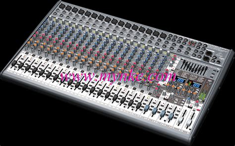 Mixer Behringer Sx 2442 Fx behringer sx 2442 fx pro mixer ม กเซอร ผสมส ญญาณเส ยง