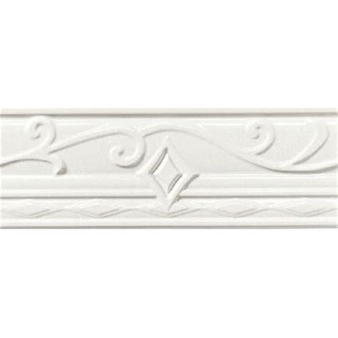 american olean designer elegance accents ice white portofino tile stone 6 61