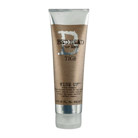 bed head products tigi bed head b for men wise up scalp shoo home