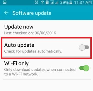 how to turn automatic updates android how to turn auto update android phone