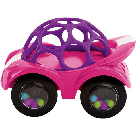 Oball Auto by Oball Rattle Roll Auto Pink Lila Oball Mytoys