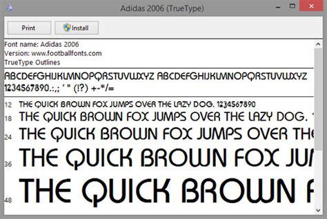 Custom Font Nameset Argentina World Cup 2006 adidas world cup 2006 ttf font football fonts