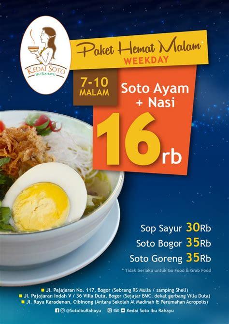 brosur promo discount fa info kuliner