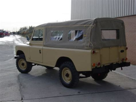 land rover series 3 109 land rover series iii 109 lhd lwb soft tops diesel ex