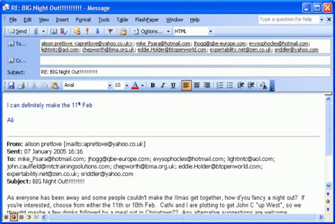 Email Format Changes When Forwarding Or Replying   how do i make thunderbird s reply format look like outlook