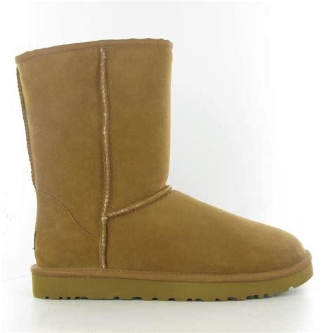 mens sheepskin boots ugg mens classic sheepskin boots in chestnut