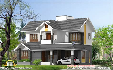 Duplex Style | modern style duplex house 1740 sq ft indian house plans