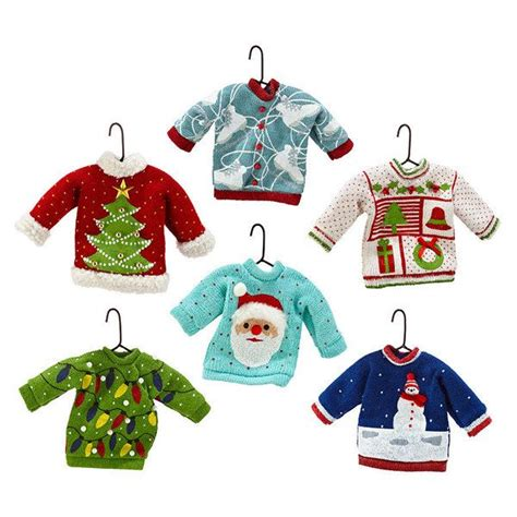 ugly sweater ornament crafts pinterest ps ugly