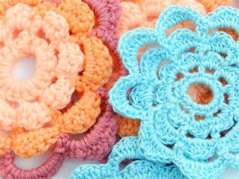 fiori a crochet idee con i fiori a crochet