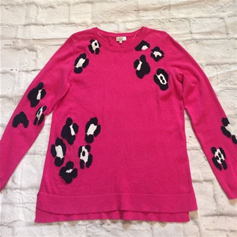 Crown Sweater Pink 66 crown sweaters crown pink navy white