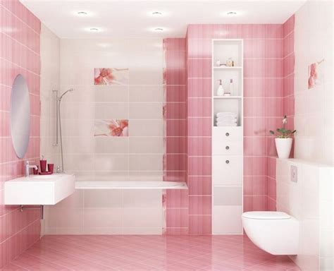 Black And Pink Bathroom Ideas by 39 Pink Bathroom Tile Ideas And Pictures
