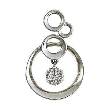 Day Berlian Care jual lavish p17607 liontin berlian emas putih 10k harga kualitas terjamin blibli