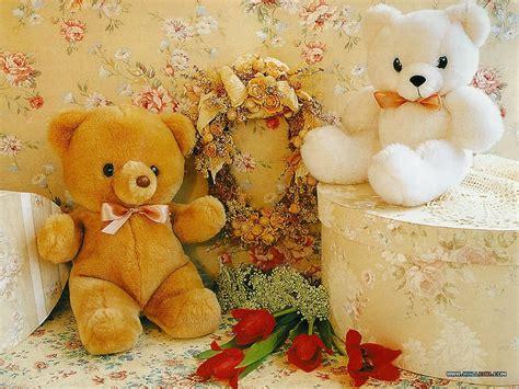 wallpaper teddy bear biru lovely and beautiful teddy bear wallpapers allfreshwallpaper