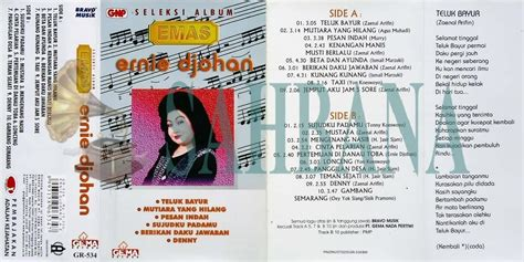 Album Kaset Pita Grace Simon Seleksi Album Emas sahbana ernie djohan seleksi album emas