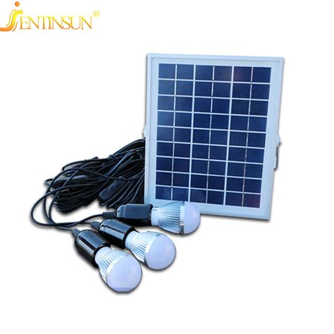 Solar Panel Lights Indoor 5w High Efficiency Solor Panel Indoor Outdoor Powered Led