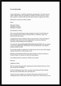 Best Cover Letter Resume by Best Cover Letter For Resume Letter Format Writing