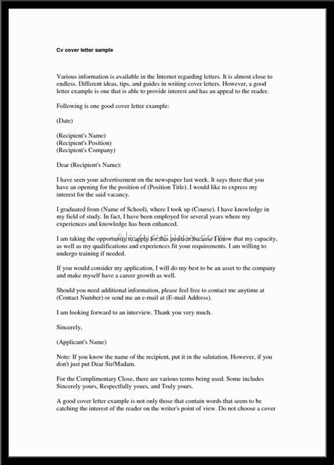 best cover letter ever pdf
