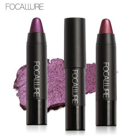 4 Lip Tint Matte focallure fashion make up moisturizer lasting metallic lipstick matte lip tint pigment