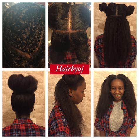 four way weave 4 way vixen styles sew in weave hair styles pinterest