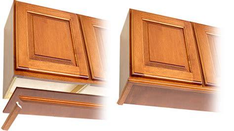 cabinet light rail moulding finishing rta cabinets keystone wood specialties