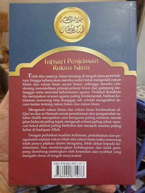Neraka Shaqor Menanti Koruptor buku intisari penjelasan rukun islam toko muslim title