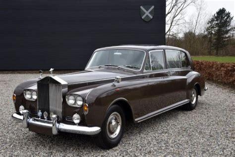 rolls royce phantom iv 1970 sedan sold classicdigest