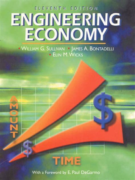 Engineering Economics For Resourcesoriginal sullivan bontadelli wicks engineering economy pearson