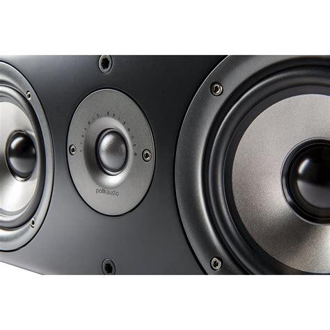 Center Speaker On Floor by Polk Cs1 Series Ii Floor Center Channel Speaker Black