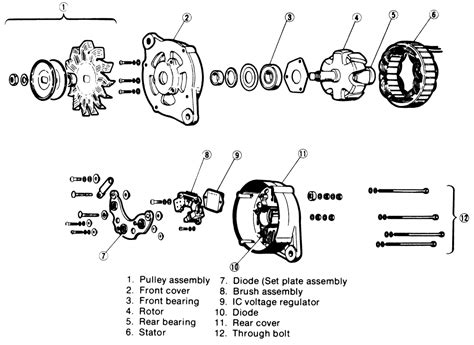alternator booster diode and repair guides engine electrical alternator autozone
