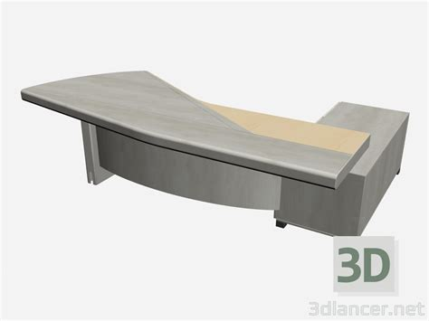 scrivania 3d 3d model olympic desk scrivania manufacturer il loft id 15625