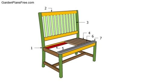 build a park bench how to build a park bench free garden plans how to