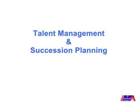 succession planning talent management template succession planning model