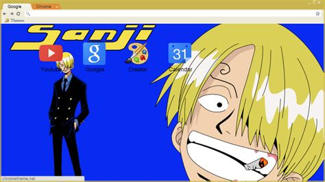 theme chrome zoro chrome theme sanji amm share
