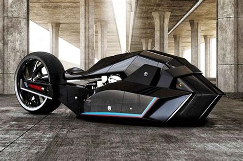 Lamborghini Concept Motorcycle Bmw Titan Concept Is Motorcycle That Belongs To The Batcave