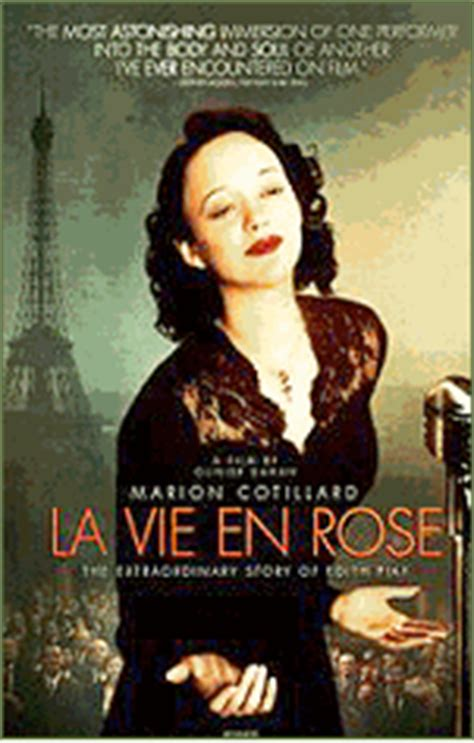 movie biography edith piaf la vie en rose edith piaf film tour in paris
