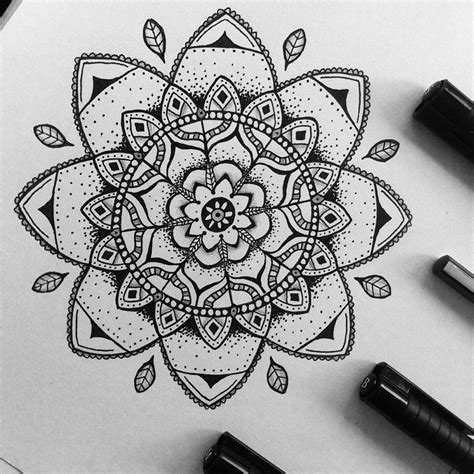 mandala tattoo dotwork marker on instagram
