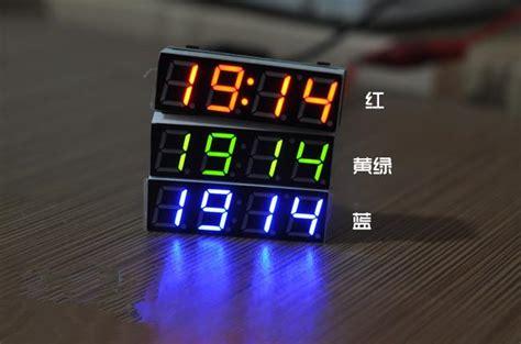 Cars Sticker Clock by Led Digital Electronic Clock Car Clock Temperature