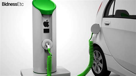 build your own ev charging station another apple car secret has burst out thetechnews