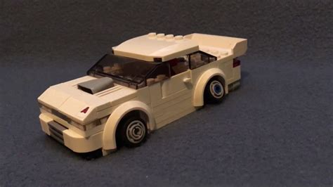 lego nissan lego nissan s13 rbkit model review