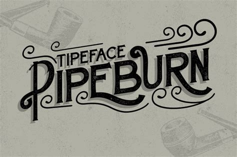 i typography free fonts pipeburn typeface free font freebies psd