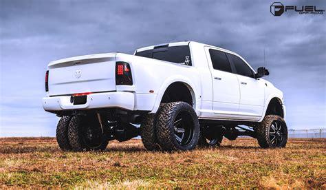 dodge 3500 wheels beef up with the ram 3500 dually and fuel wheels wheelhero