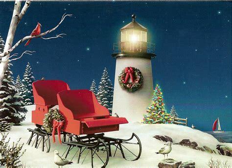 christmas lighthouse a wonderful christmas lighthouse