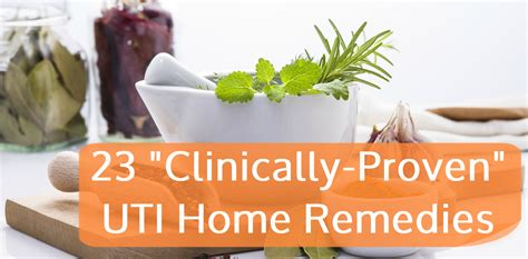 23 quot clinically proven quot uti home remedies