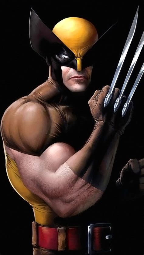 wallpaper iphone 5 wolverine wolverine with claws out iphone 5 wallpaper 640x1136