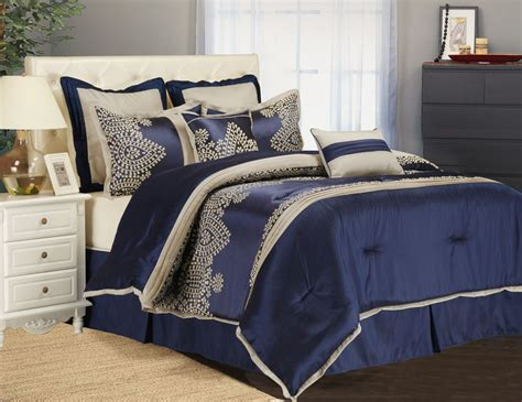 Blue Comforters by Ideas Blue Comforter Sets With Nightstand