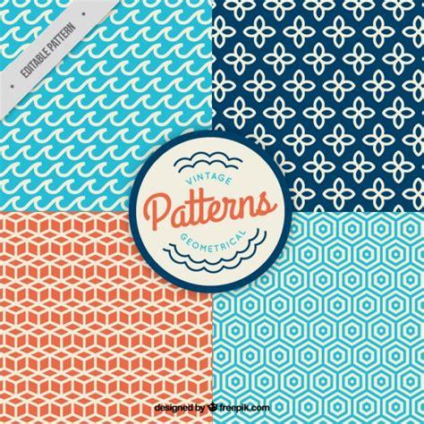 pattern vintage freepik vintage geometric patterns vector free download