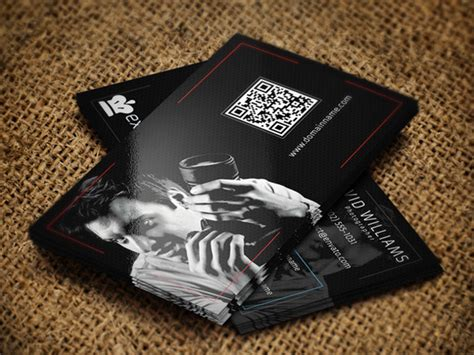 photography business card business card templates on