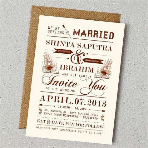 Undangan Pernikahan Vintage 4 konsep undangan pernikahan indonesia a wedding